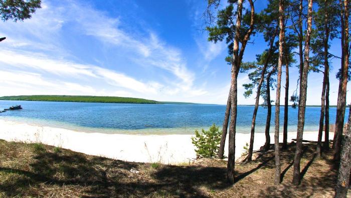 Отдых на Печенежском водохранилище
